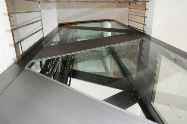 Atypická výtahová šachta, RD Břevnov