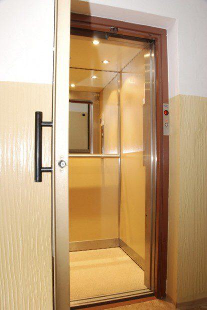 Kabina osobo-nákladního výtahu