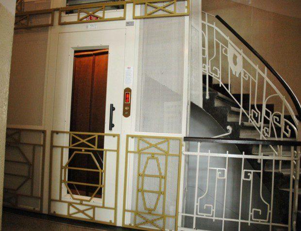 Historický výtah, Biskupská 1, Praha 1