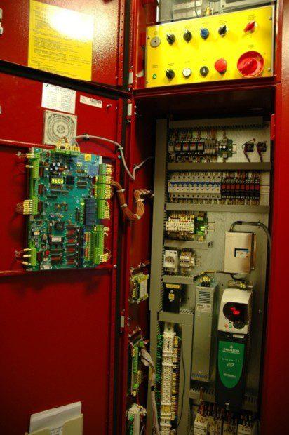 Výtahový rozvadeč