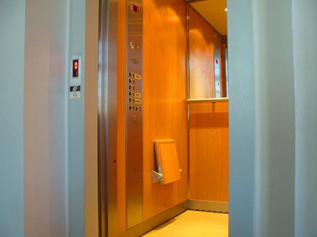 Osobní výtah hotel Nové Adalbertinum
