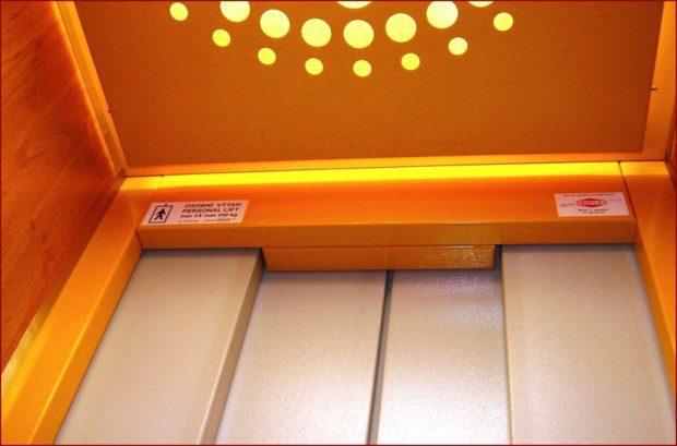 Automatické dveře kabinové centrální