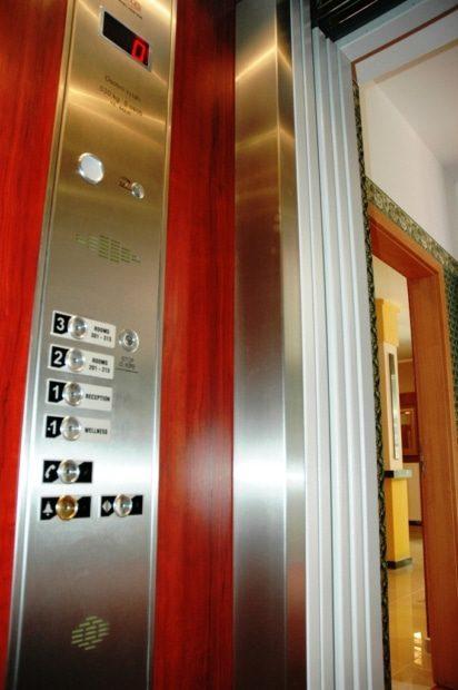 Kabinové tablo osobního výtahu