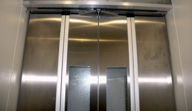 Kabinové dveře skládací BUS