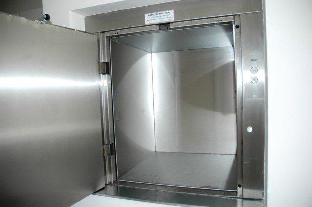 Potravinový výtah, školka Vrchlabí