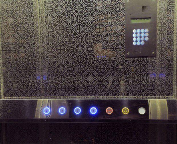 Ovládání domovní výtahu