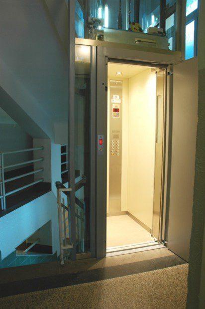 Modernizace osobního výtahu
