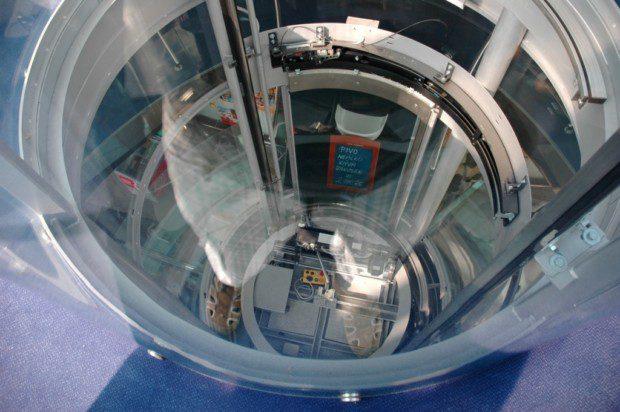 Kruhová šachta výtahu, Pražský hrad